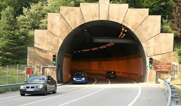 El peatge del Túnel del Cadí serà gratuït el cap de setmana del 6 i 7 de juny.