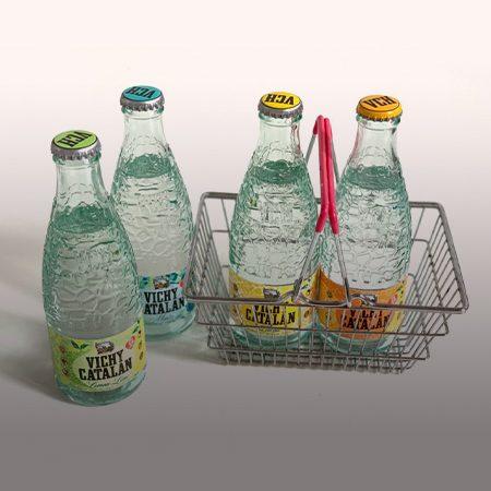 VichyCatalan apostaper la sostenibilitat i ens porta l'aigua a casa amb envasos retornables