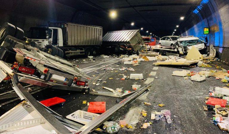 Greu accident ahir a la tarda al Túnel de Bracons
