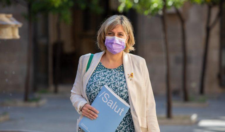 Alba Verges vol fer obligatori l'ús de la mascareta encara que hi hagi distància de seguretat.