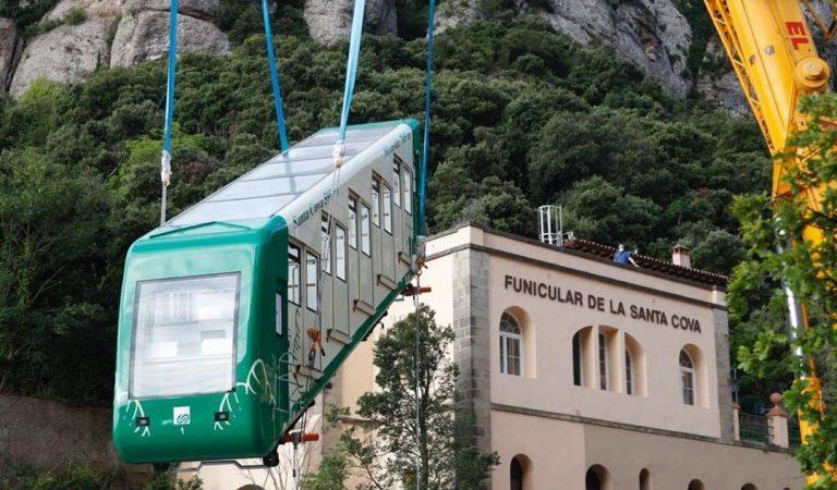 El Funicular de la Santa Cova torna a funcionar després de més de dos anysaturat.