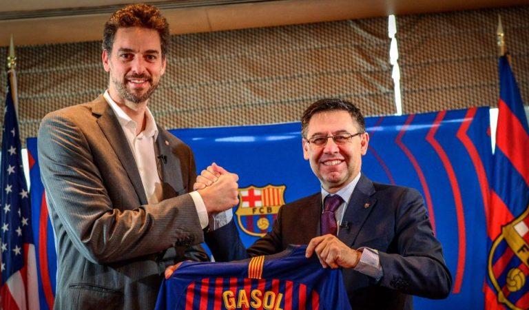El Barça de basquet vol recuperar a Pau Gasol