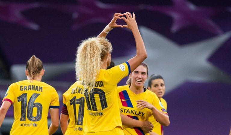 El Barça femení classificat per les semifinals de laChampions– Dos anys superant al masculí