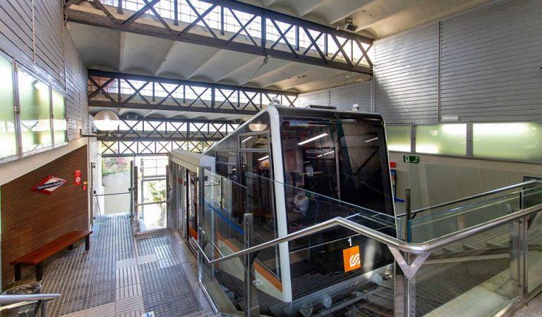 El funicular de Vallvidrera estarà fora de servei durant tres setmanes