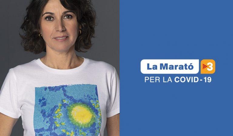 """""""Aquesta Marató toca a tothom"""", la Marató de la Covid-19 ja té eslògan, vídeo i samarreta."""