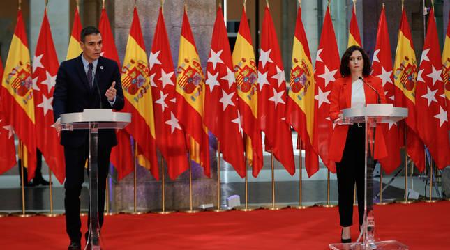 """Quants cops heu sentit aquella frase de """"Loscatalanesseenvuelvenen la senyera""""?, Madrid ho ha fet literalment."""