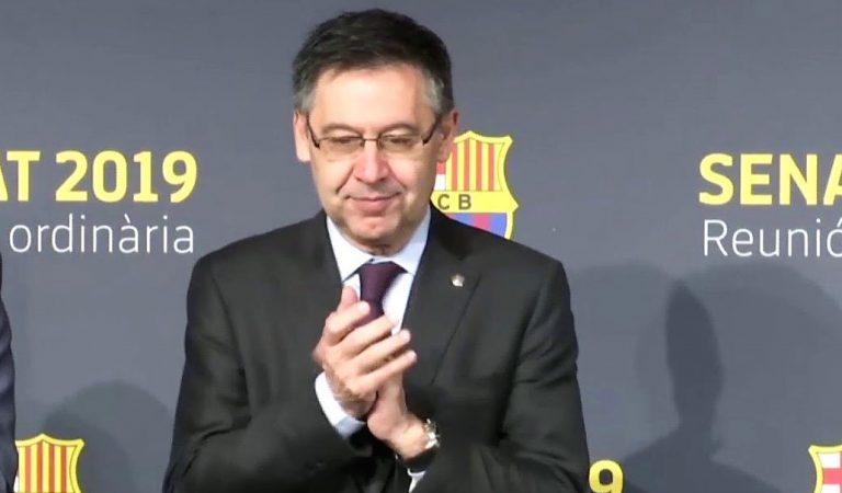Bartomeu podria dimitir si es validen les signatures de la moció de censura