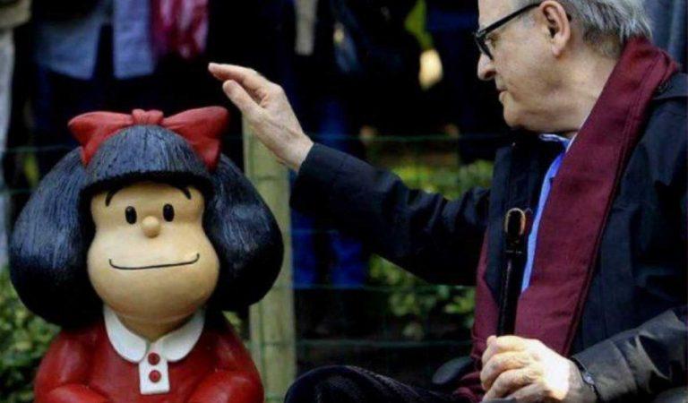 Mor als 88 anys Quino, el creador de Mafalda