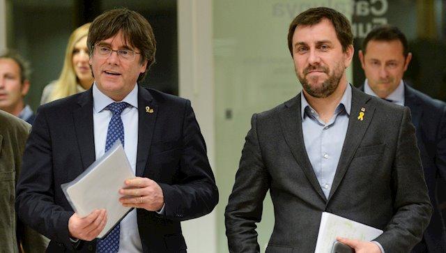 El Constitucional manté vigent les ordres de detenció contra Puigdemont iComín