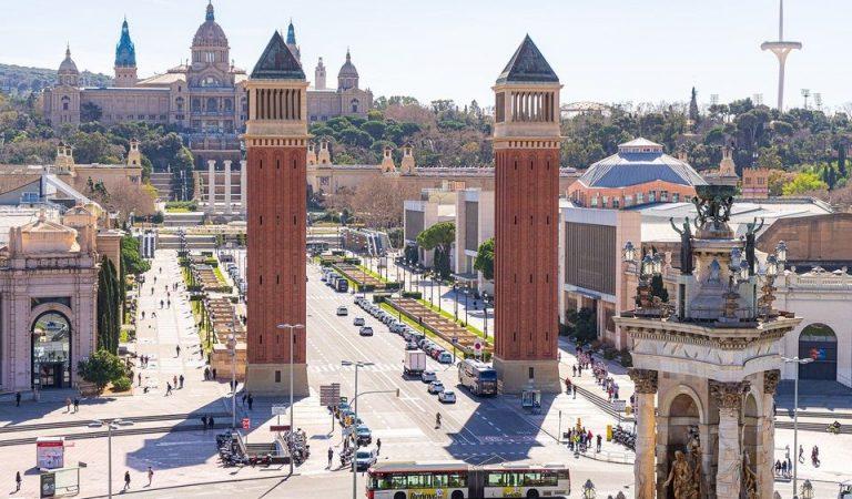 Prova pilot de vacunació massiva a la Fira de Barcelona