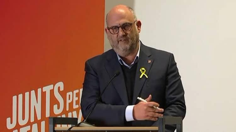 Eduard Pujol apartat deJxCatper un possible cas d'assetjament sexual