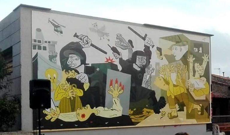 Ja heu vist la versió del Guernica de Picasso que ha fet Moià per commemorar l'1 d'Octubre?