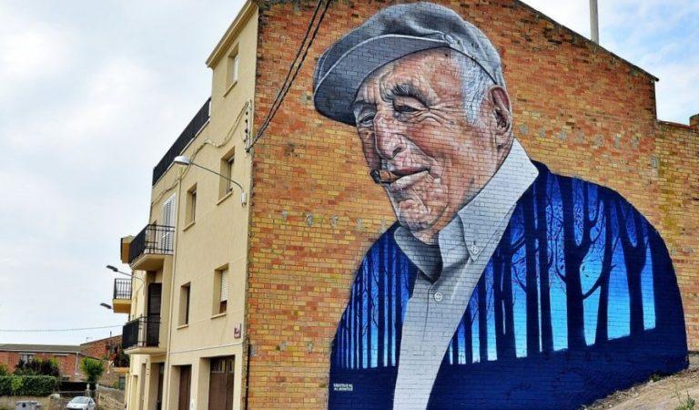 Penelles, el petit poble de Lleida que té més grafitis que carrers