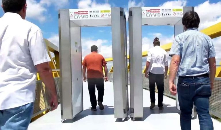 Una empresa catalana crea el primer Túnel desactivador de la Covid-19