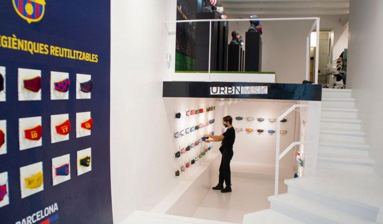 Obre a Barcelona la primera botiga física de mascaretes de tot l'Estat