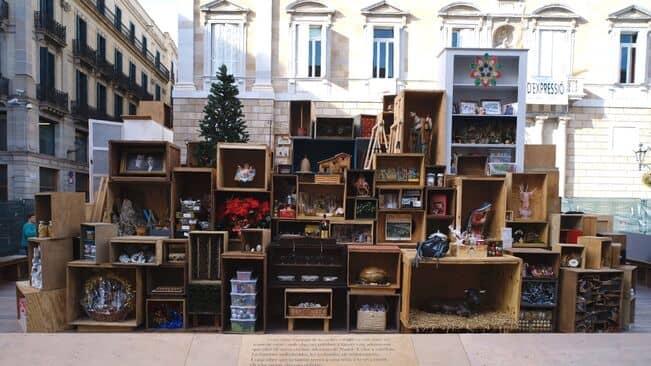 Barcelona no tindrà pesebre a la Plaça Sant Jaume i posa en marxa un Rasca de Nadal