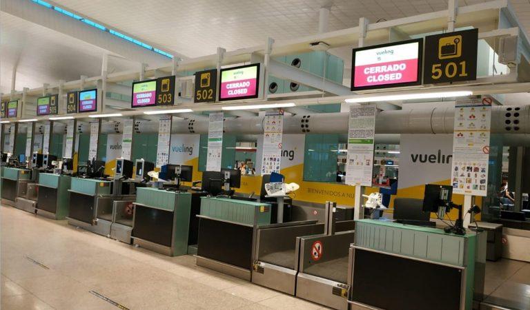 A partir de desembre tanca la Terminal 2 de l'Aeroport del Prat