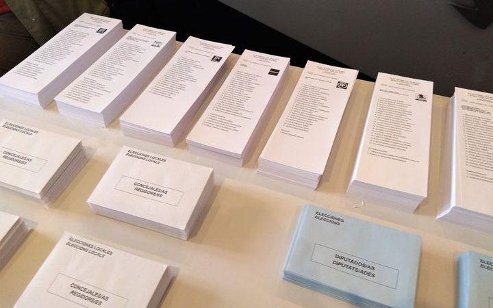 Les paperetes per les eleccions del 14-F es podran descarregar i imprimir a casa