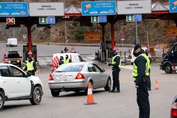 El tancament de la Cerdanya provoca cues quilomètriques al Túnel del Cadí