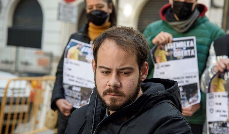 PabloHaséls'acomiada de la llibertat amb un vídeo dirigit a Felip VI