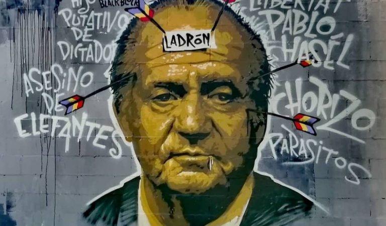 Ada Colau es disculpa per haver esborrat el grafiti en suport a PabloHasél