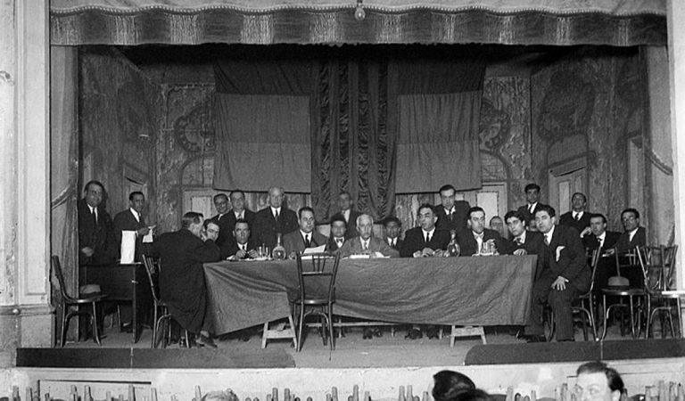 Avui fa noranta anys que es va celebrar la Conferència d'Esquerres, acte fundacional d'ERC