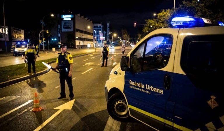 Denunciat a Barcelona un conductor que ha donat positiu en totes les drogues detectables.