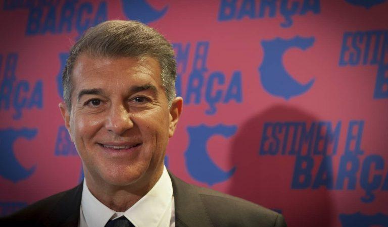 Joan Laporta guanya les eleccions a la presidència del Barça (sondeig de TV3)
