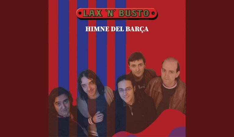 Lax'n'Bustoens canta l'himne del Barça que fa anys van gravar, però no l'havien compartit.