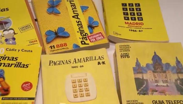"""Les noves tecnologies fan desaparèixer les """"PáginasAmarillas"""" en paper. Ahir es va publicar l'última edició"""