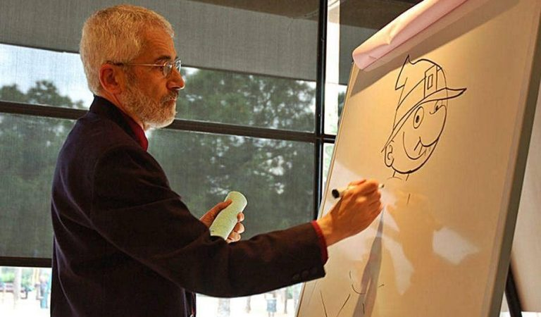 Mor Picanyol, el dibuixant moianès creador d'Ot el Bruixot
