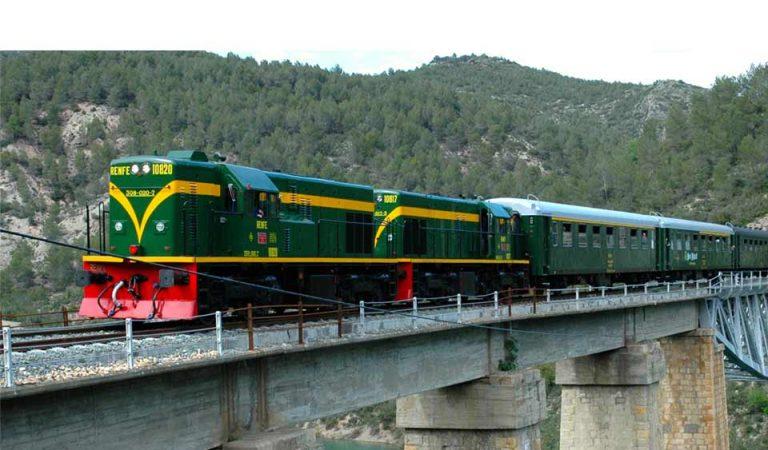 El Tren dels Llacs a punt de fer cent anys, engega temporada amb plena normalitat