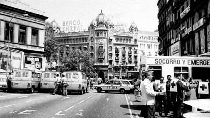 Avui fa40anys de l'assalt al Banc Central que va mantenir en suspens a Barcelona tot un cap de setmana.