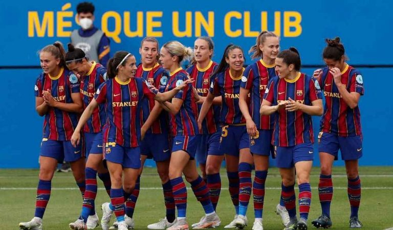 """La temporada perfecta, digne del millor """"DreamTeam"""" – Triplet de les noies del Barça"""