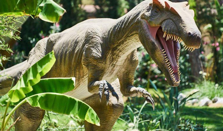 Aquesta primavera el Poble Espanyol acull una exposició de dinosaures