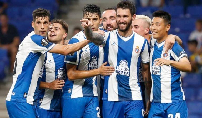 L'Espanyol torna a ser equip de Primera Divisió. Felicitats, pericos!