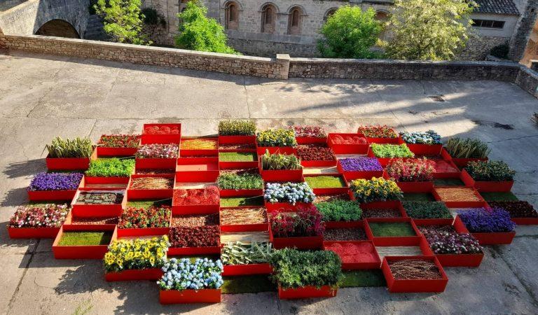 Un tomb per Girona Temps de Flors 2021 al ritme de la sardana Girona M'enamora