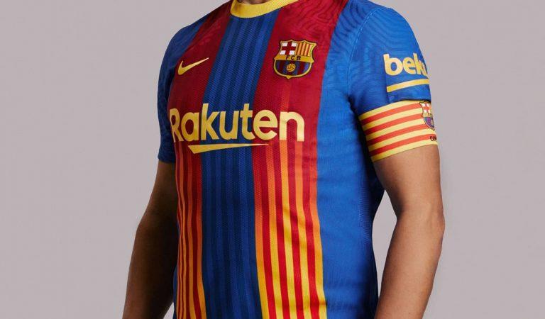 El Barça s'enfrontarà a l'Atlètic de Madrid amb la samarreta de la senyera que no va donar sort a Madrid