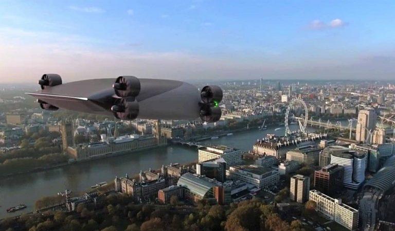 Una empresa americana dissenya un autobús volador que uniria Barcelona i Madrid en una hora