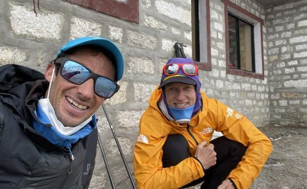 Kilian Jornet abandona el repte d'assolir el cim de l'Everest per les males sensacions físiques