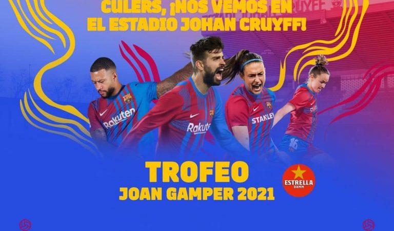 ElGamperes jugarà a l'EstadiJohanCruyff amb 3.000 espectadors