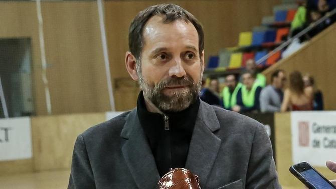 Mor RamonBasiana, president de la Federació Catalana de Patinatge que tant va lluitar per l'esport català.