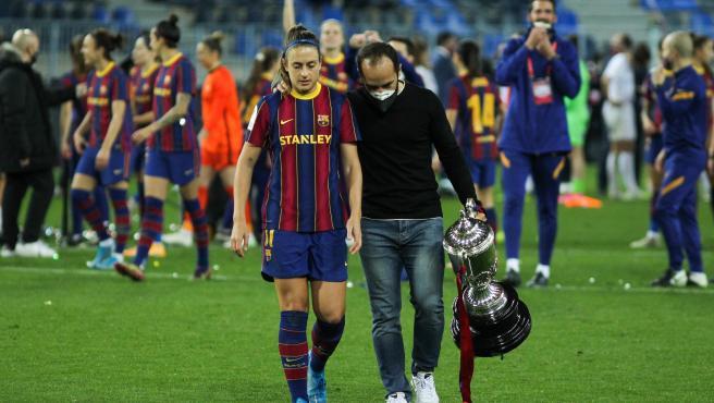 AlexiaPutellasmillor jugadora de l'any i Lluís Cortés millor entrenador.