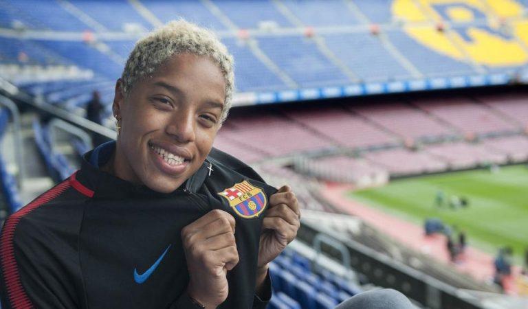 Medalla d'or i rècord mundial d'una atleta de l'equip d'atletisme del Barça a Tòquio