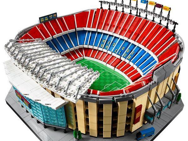 LEGO i el Barça presenten una maqueta del Camp Nou amb més de 5.500 peces