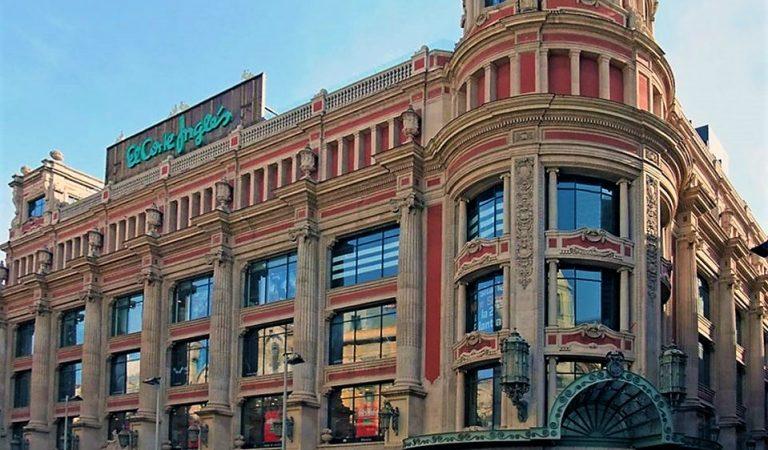 Tanca 'El Corte Inglés' de Portal de l'Àngel de Barcelona