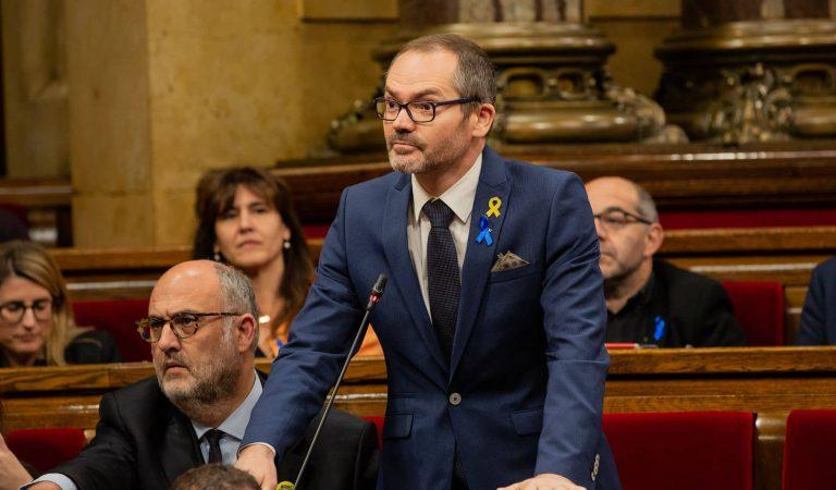 Per ordre del TSJC detenen a l'exvicepresident de la Mesa del Parlament, Josep Costa