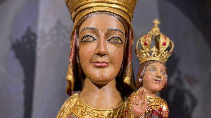 Troben al mercat dels Encants una Mare de Déu de Queralt que van robar dissabte en una parròquia de Barcelona.